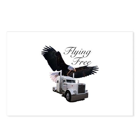 Flying Free Postcards (Package of 8)