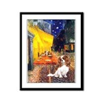 Cafe & Cavalier Framed Panel Print