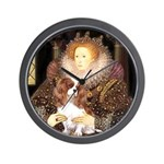 The Queen's Cavaliler Wall Clock