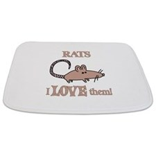 Rats Love Them Bathmat
