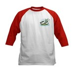 Magpie Drake and Duck Kids Baseball Jersey