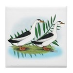 Magpie Drake and Duck Tile Coaster