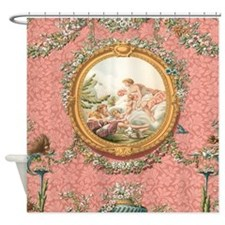 Ancient Victorian Angel design in pastel tones Sho