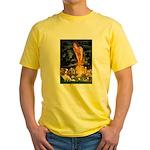 Fairies & Cavalier Yellow T-Shirt