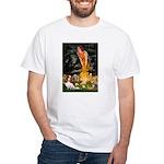 Fairies & Cavalier White T-Shirt