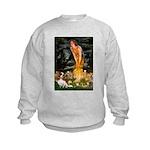 Fairies & Cavalier Kids Sweatshirt
