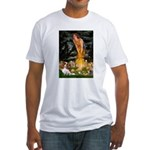 Fairies & Cavalier Fitted T-Shirt