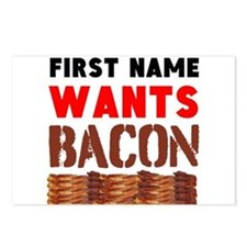 Wants Bacon Postcards (Package of 8)