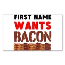 Wants Bacon Decal