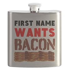 Wants Bacon Flask