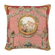 Ancient Victorian design in pastel tones Woven Thr