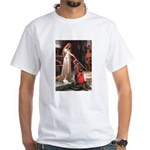 Princess & Cavalier White T-Shirt