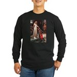 Princess & Cavalier Long Sleeve Dark T-Shirt