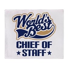 Chief of staff Throw Blanket
