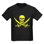 Pirate Sunset Kids Dark T-Shirt