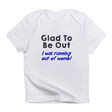 Running womb boy Infant T-Shirt
