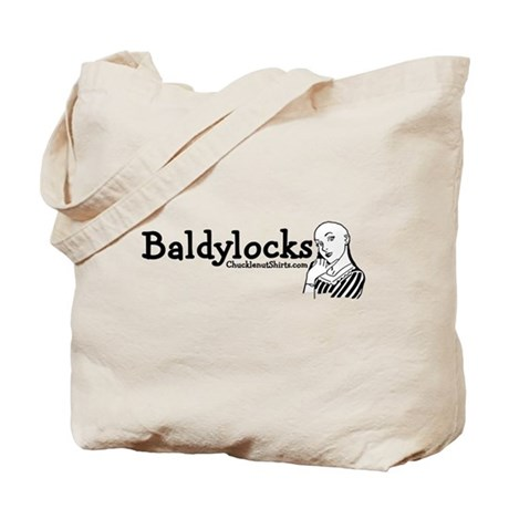 Baldylocks Tote Bag