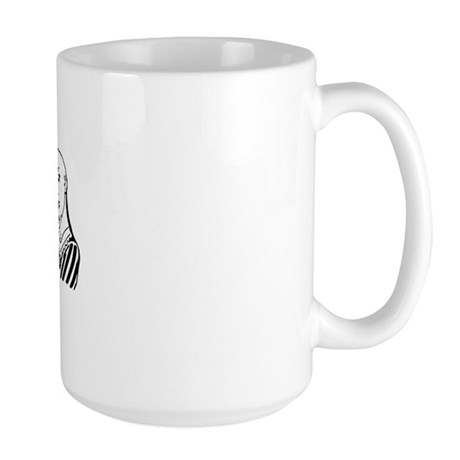 Baldylocks Large Mug