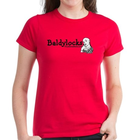 Baldylocks Women's Dark T-Shirt