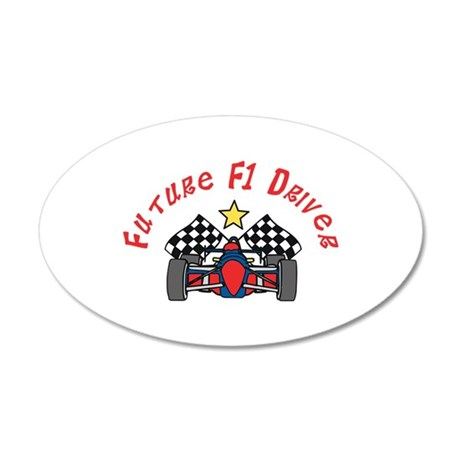 Future F1 Driver Wall Decal