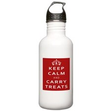 Keep Calm Stainless Water Bottle 1.0l