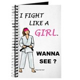 Fight Like A Girl Journal