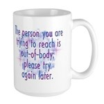 Out of Body Large Mug