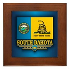 South Dakota DTOM Framed Tile