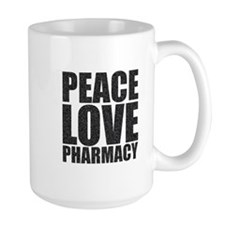 Peace Love Pharmacy Mug