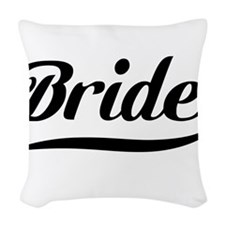 Bride Woven Throw Pillow