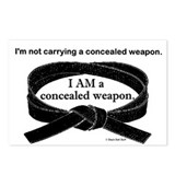 Concealed Weapon Postcards (Package of 8)