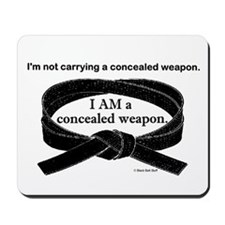 Concealed Weapon Mousepad