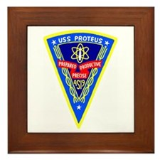 USS Proteus (AS 19) Framed Tile