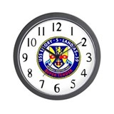 USS Emory S. Land (AS 39) Wall Clock