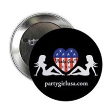 "Party Girl USA 2.25"" Button (100 pack)"