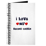 I Love MY SECOND COUSIN Journal