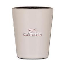 Custom California Shot Glass