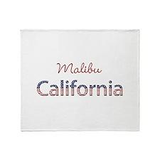 Custom California Throw Blanket