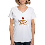 Pirate Sunset Women's V-Neck T-Shirt