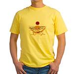 Pirate Sunset Yellow T-Shirt