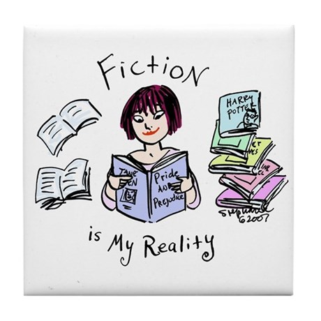 Fiction Tile Coaster