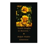 Earth Laughs in Flowers Postcards (Package of 8)