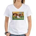 Angels & Cavalier Women's V-Neck T-Shirt