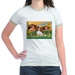 Angels & Cavalier Jr. Ringer T-Shirt