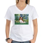 Bridge / Cavalier Women's V-Neck T-Shirt