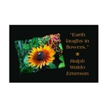 Earth Laughs in Flowers Posters