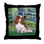 Bridge / Cavalier Throw Pillow