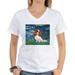 Lily Pond (#5) / Cavalier Women's V-Neck T-Shirt
