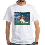 Lily Pond (#5) / Cavalier White T-Shirt