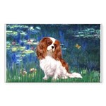 Lily Pond (#5) / Cavalier Sticker (Rectangle)